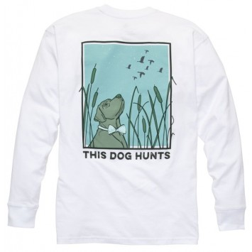 This Dog Hunts: White Long Sleeve